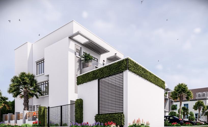 Beaufort Terraces 3D Rendering 4